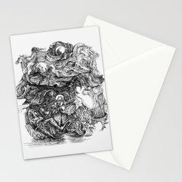dreaming of escape Stationery Cards