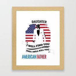 t shirt print Framed Art Print