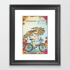 Summer of 29 Framed Art Print