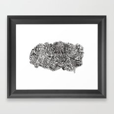 2013 - B Framed Art Print