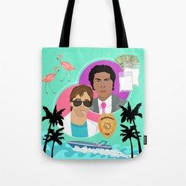 Miami Vice: Crockett and Tubbs Tote Bag