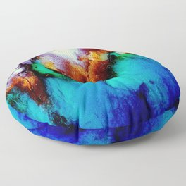 Colors In Motion Floor Pillow