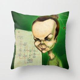 St. Sheldon Throw Pillow