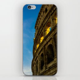 Sunset Hitting The Roman Colosseum iPhone Skin