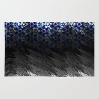 china Area & Throw Rugs featuring Static China by elikourY