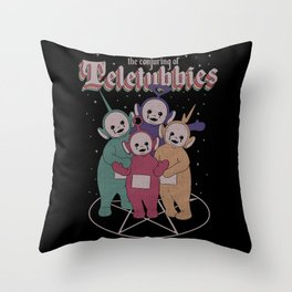 Teletubbies Throw Pillow