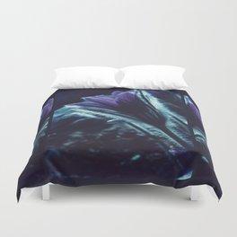 Flower in the Moonlight #2 #Purple Duvet Cover
