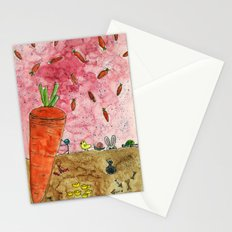 Everyone Love Carrot Stationery Cards