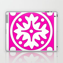 hot pink pattern Laptop & iPad Skin