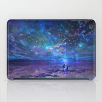 discount iPad Cases featuring Ocean, Stars, Sky, and You by Melissa Hui Wang (muddymelly)