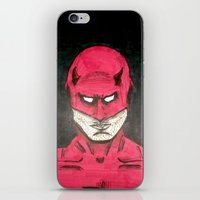 daredevil iPhone & iPod Skins featuring Daredevil by bergertime