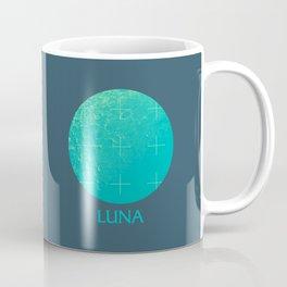 Moon Space Program Retro 70s - A Coffee Mug