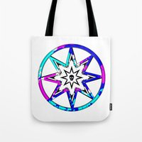 death star Tote Bags featuring Death Star by Sabrina