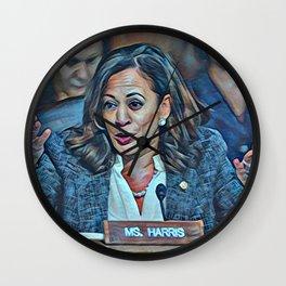 Kamala Harris Wall Clock