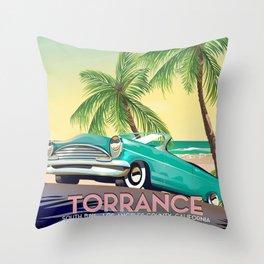 Torrance, California Throw Pillow