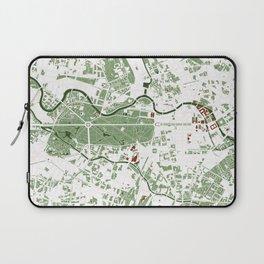 Berlin city map minimal Laptop Sleeve