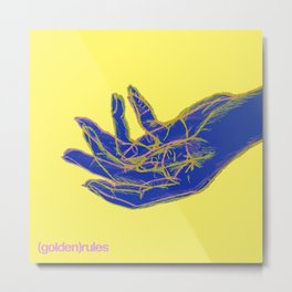 Holding Hand Metal Print