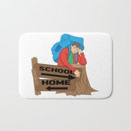School or home Bath Mat