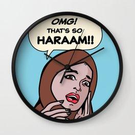 SO HARAM Wall Clock