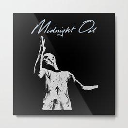 midnight oil Metal Print