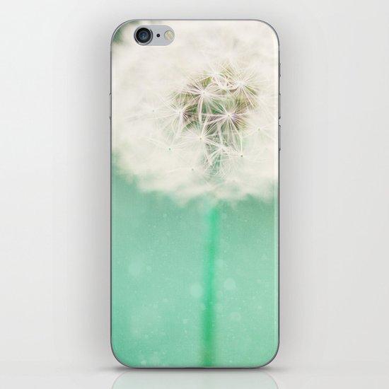 Dandelion Seed iPhone & iPod Skin