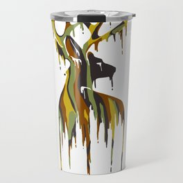 Painted Stag Travel Mug
