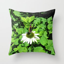 Petite Winged Majesty Throw Pillow