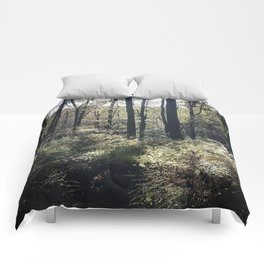 Wander in Woods Comforters