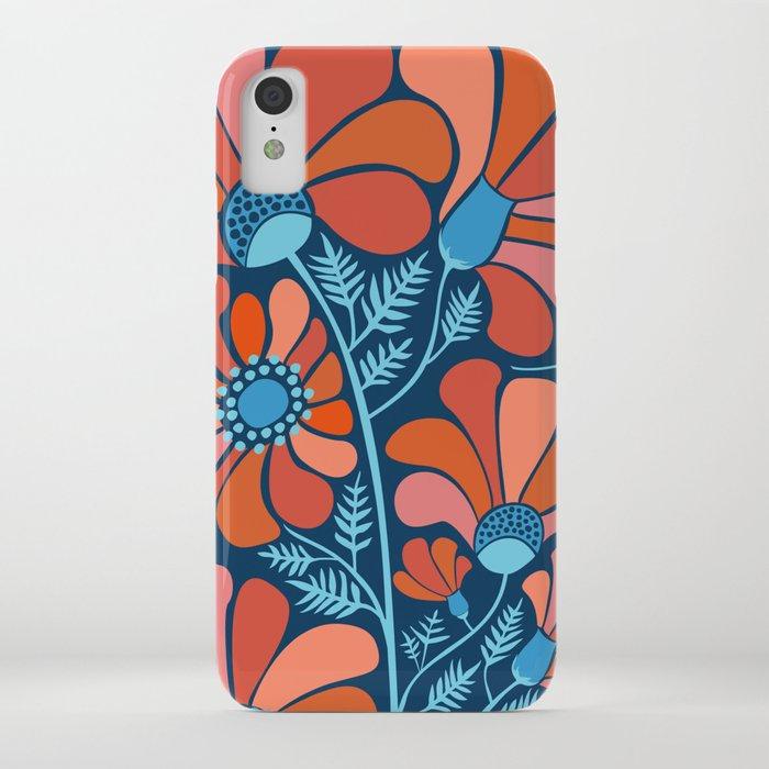 Flower Power IV iPhone Case