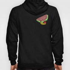 Fruit Pattern - Watermelon, Strawberry, Banana Hoody