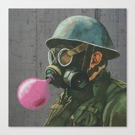 Birthday soldier Canvas Print