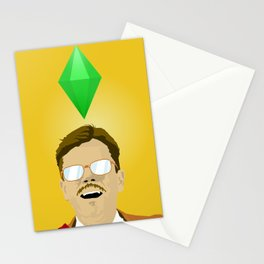 Matt Damon! Stationery Cards