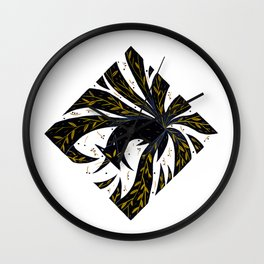 Nine Tails Wall Clock