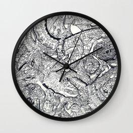 ' It Iz What It Iz '  By: Matthew Crispell Wall Clock