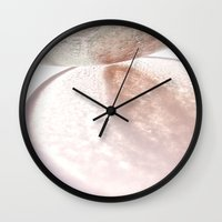 shadow Wall Clocks featuring Shadow by Yimeng Ou