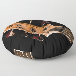 Engine of the Band (Color) Floor Pillow