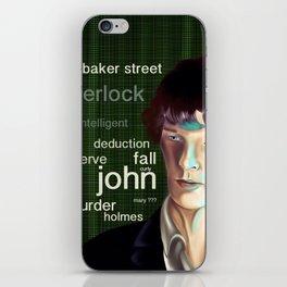 Deduction iPhone Skin