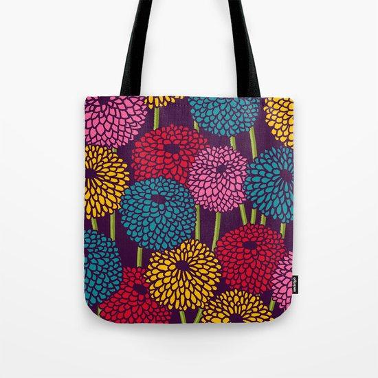 Full of Chrysanth Tote Bag