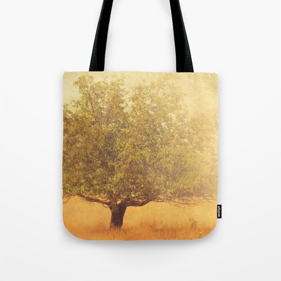 tree photograph. Solitude.  Tote Bag