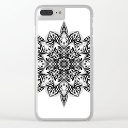 Manadala 3 Clear iPhone Case
