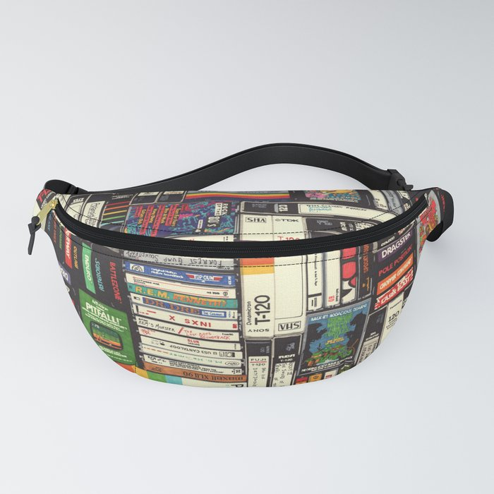 Cassettes, VHS & Games Fanny Pack