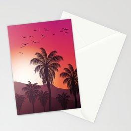 Festival Inspired Sunset Stationery Cards