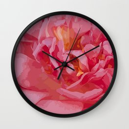 One coral beauty Wall Clock