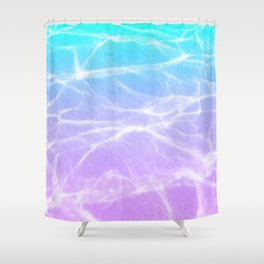 Cloud 9 (Blue x Purple) Shower Curtain