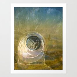 TMT / The Biggest Spatial Eye / EXPLORERS ONLY Art Print