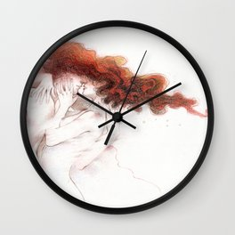 Fire&Gasoline II Wall Clock