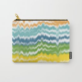 Colorful Soundwaves Carry-All Pouch