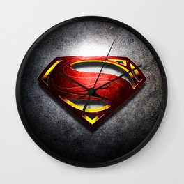 Man of Steel Wall Clock