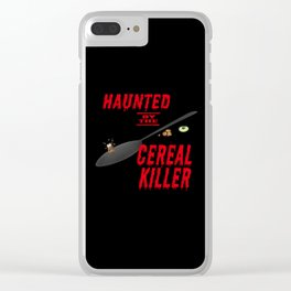 The long, long shadow of the cereal killer Clear iPhone Case