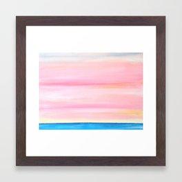 Softest Day Framed Art Print
